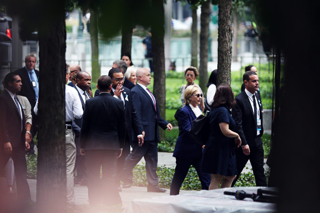 Hillary Clinton Faints in New York 911
