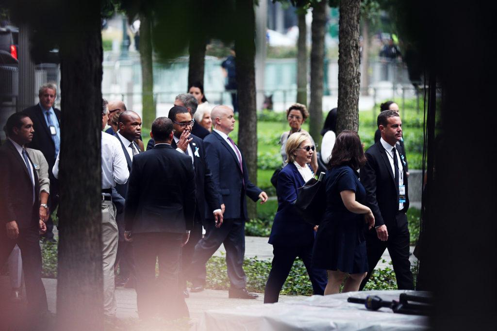 Hillary Clinton Faints in New York 911